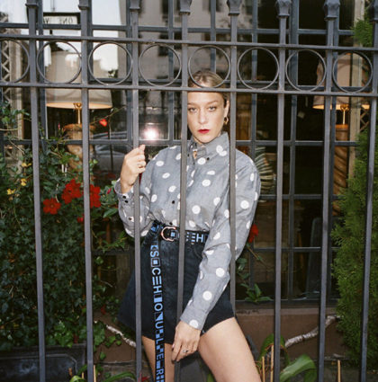 Chloë Sevigny is the face of the new Proenza Schouler line